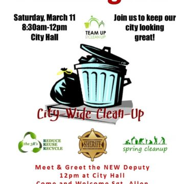 City-Wide Cleanup and Meet & Greet