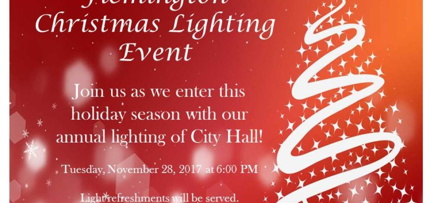 Christmas Lighting Event