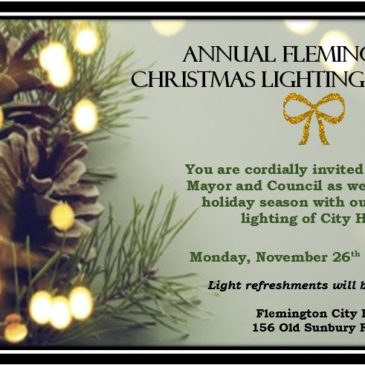 Annual Christmas Lighting Event