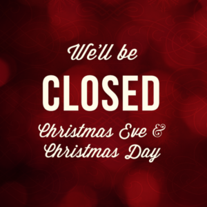 City Hall Closed 12/24 & 12/25/18