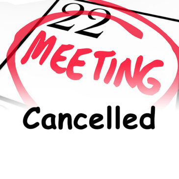 Fire Committee Workshop #2 Cancelled