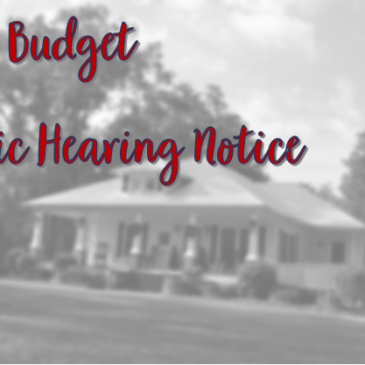Public Hearing on the FY22 Budget